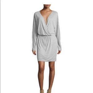 haute hippie grey dress NWT